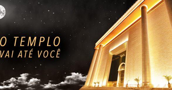 Atrações ao vivo do Univer: você dentro do Templo de Salomão
