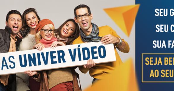 Faça parte da família Univer Vídeo também no Facebook
