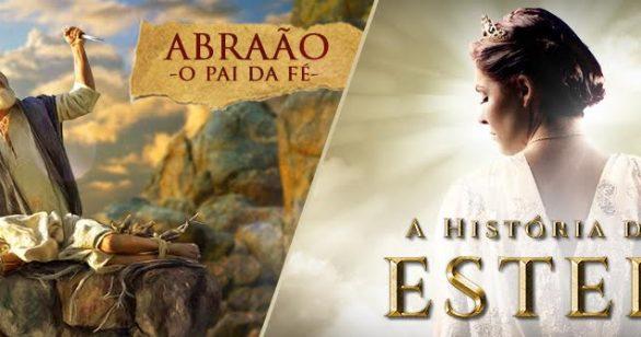 Os melhores filmes bíblicos estão no Univer Vídeo