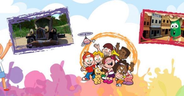 Top 3 desenho infantil cristão