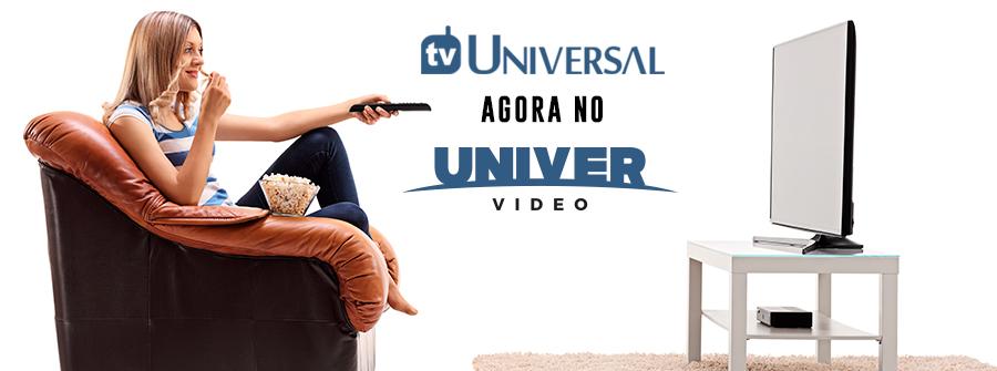 8051707 TV Universal agora faz parte do Univer Vídeo