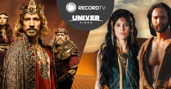 Sucessos da Record TV no Univer Vídeo