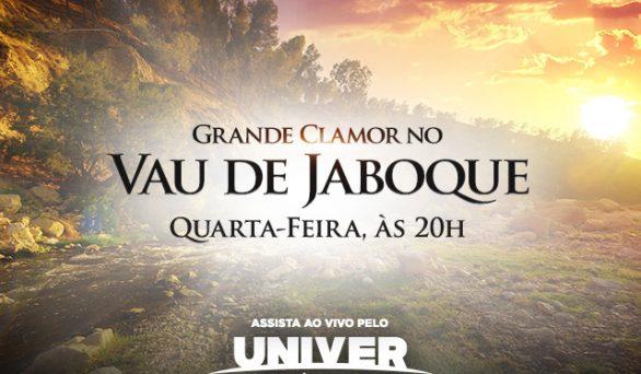 Assista hoje, às 20h, ao grande Clamor da Concordância, direto do Vau de Jaboque!