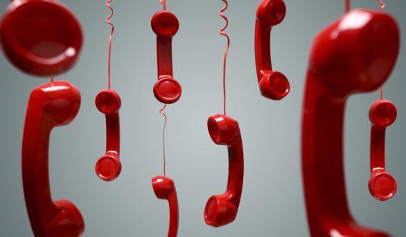 Telefone fora do ar!