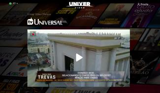 NOVIDADE: Univer Vídeo oferece TV Universal para todos!