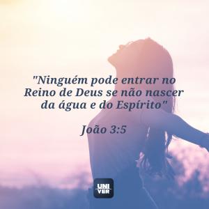 versículo sobre nascer de novo 2