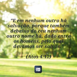 Versículos sobre salvação - novela O Rico e Lázaro - Univer Vídeo