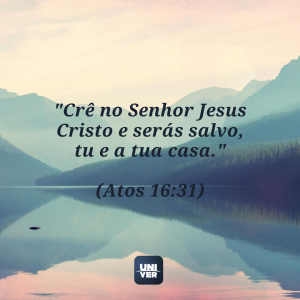 Versículos sobre salvação - O Rioo e o Lázaro - Univer Vídeo