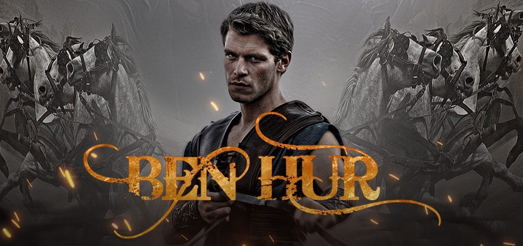 Filme Ben Hur, o novo lançamento do Univer Video!