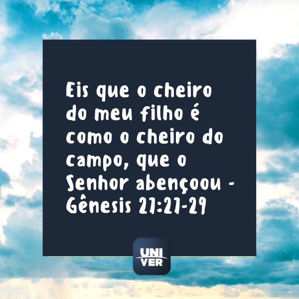 Versículo Bíblia - Univer Vídeo