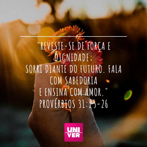 Provérbios 31:23-26 - Univer Vídeo