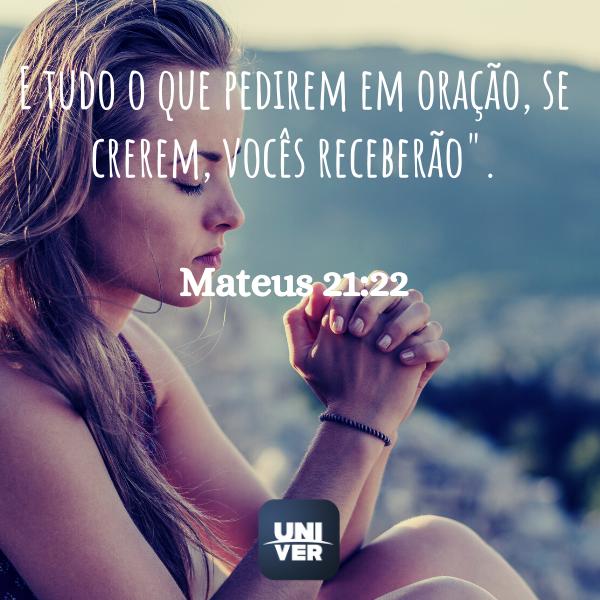 Mateus 21:22- Jejum de Daniel - Univer Vídeo