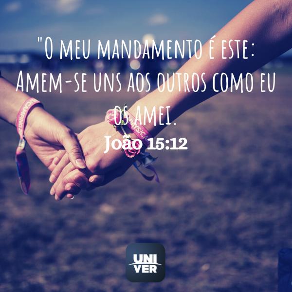 João 15:12 - Univer Vídeo