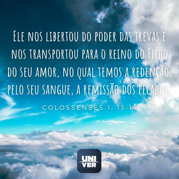 Colossenses 1: 13-14 - Univer Vídeo
