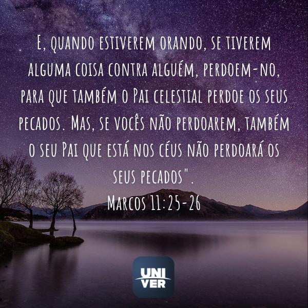 Marcos 11:25-26 - Univer Vìdeo