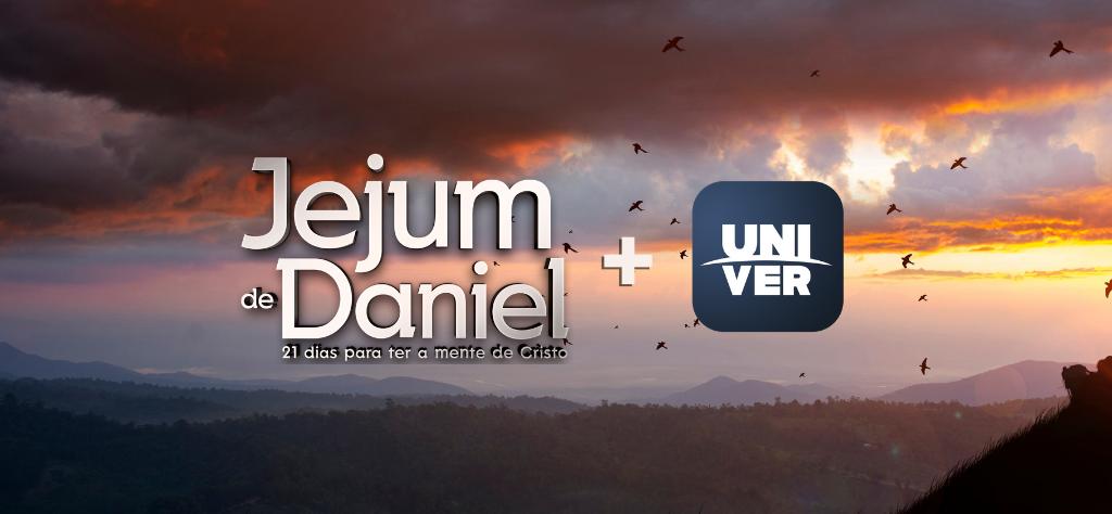 Jejum de Daniel e o Univer Vídeo andam juntos?