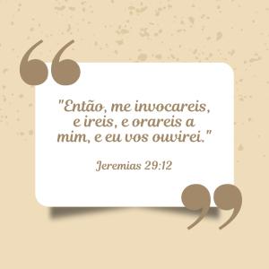 Jeremias 29:12