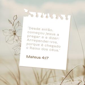 Mateus 4:17